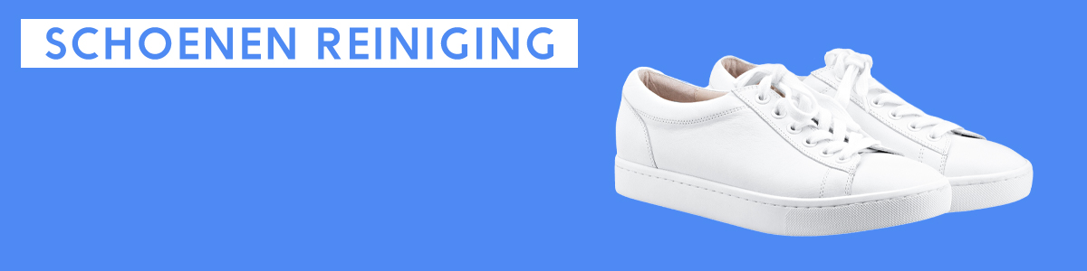 Schoenen reiniging service